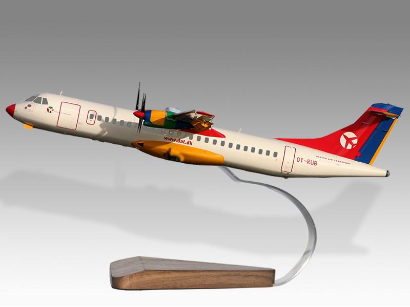 ATR 72 Danish Air Transport Model Private & Civilian $194 50