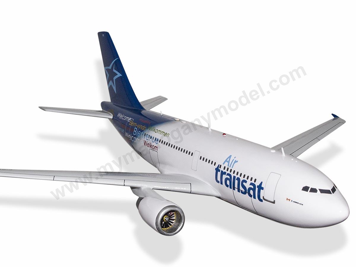 Airbus A310 Air Transat Model Private & Civilian $194 50