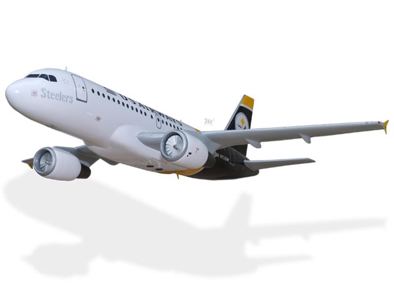 Airbus A319 US Airways Steelers Model Private & Civilian $194.5 ...