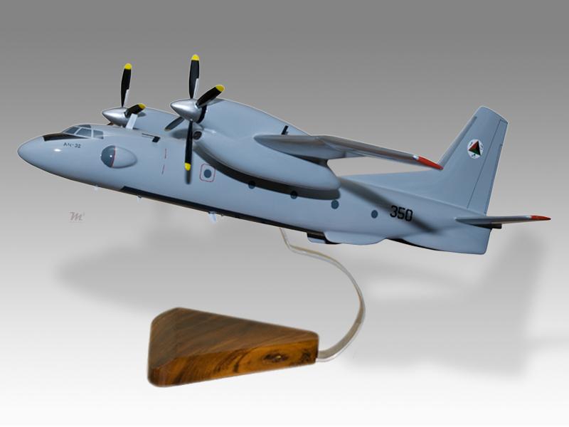 Antonov An 32 Afghan Air Force Model Military Airplanes