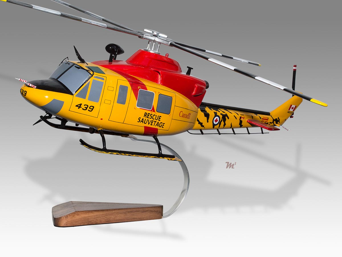 Bell 412 UH1 Griffon  Rescue Sauvetage Model Helicopters 19450 PlaneArts