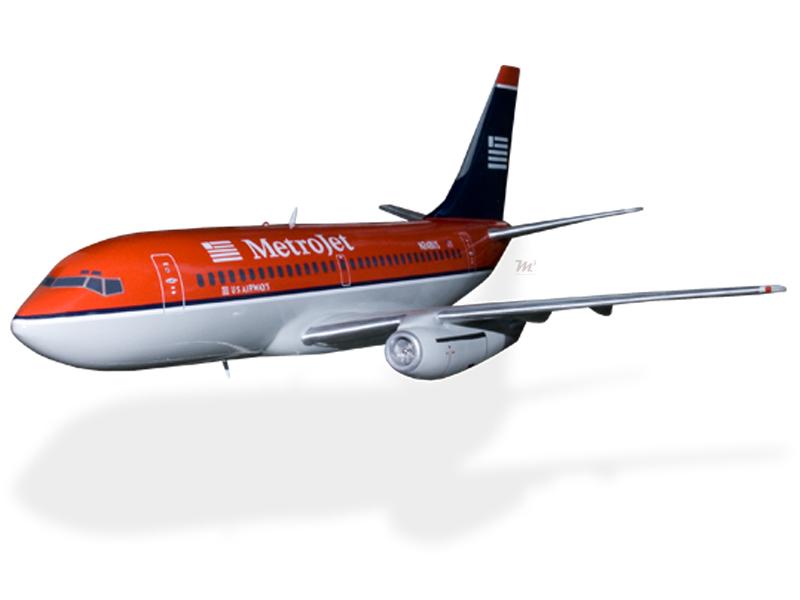 Boeing 737-200 US Airways Metrojet Model Private & Civilian $199.5 ...