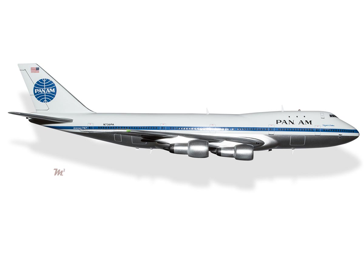 Boeing 747 100 Pan Am Clipper Victor Model Private