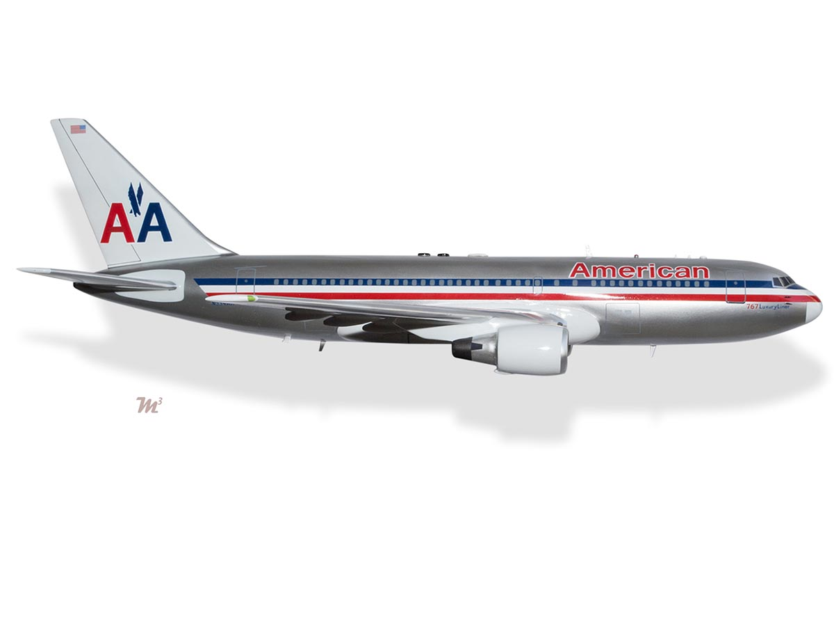 Boeing 767-200ER American Airlines N334AA Nine Eleven ...