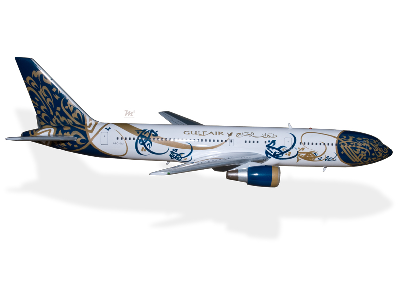 Collectables Boeing 767-300 Er Air Seychelles Wood Airplane Model Models
