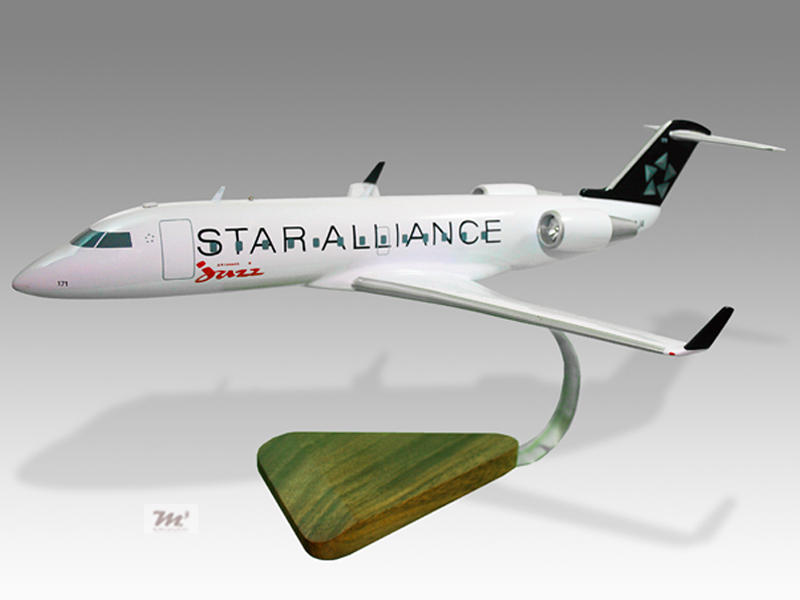 Bombardier Crj 900lr Delta Connection Mahogany Wood Handmade Airplane Model Models Airlines