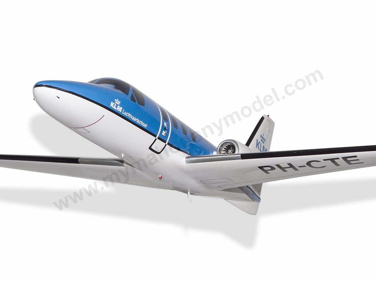Cessna Citation 500 Klm Luchtvaartschool Model Private