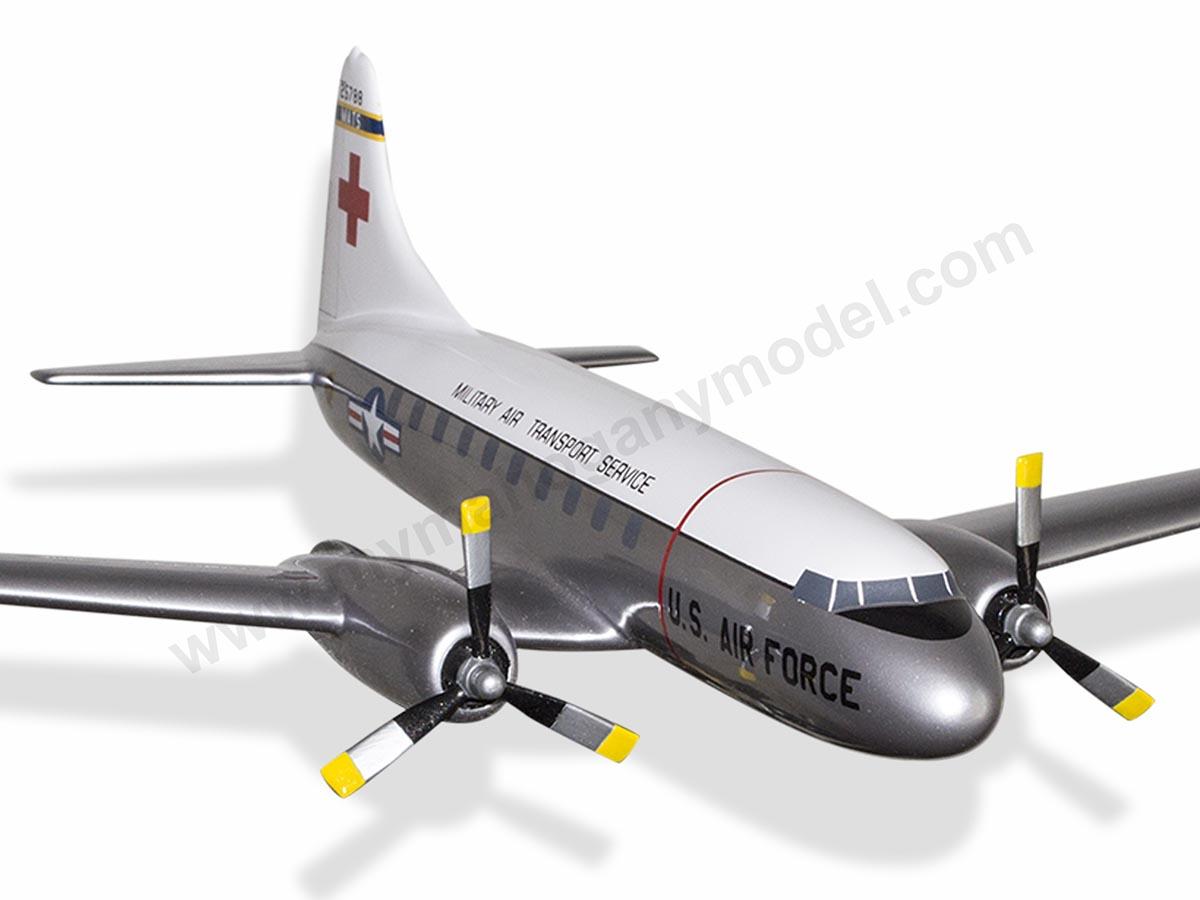 Convair C-131A USAF Military Air Transport Service Model Military