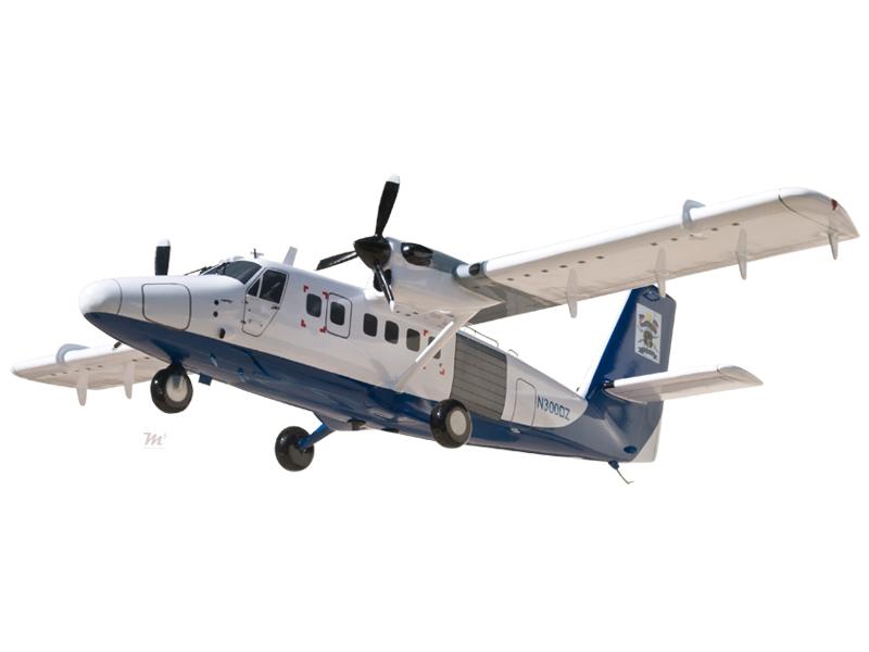 De Havilland Dhc 6 300 Twin Otter Model Private Amp Civilian