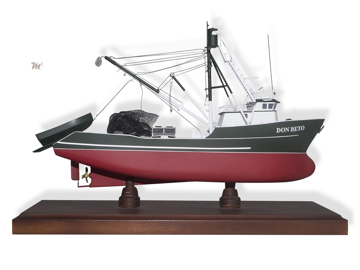 Don beto fishing vessel model boats ships submarines for Model fishing boats
