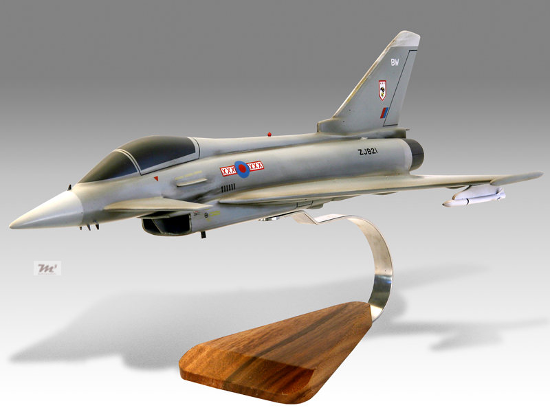 eurofighter typhoon f2 weathered effect model military. Black Bedroom Furniture Sets. Home Design Ideas