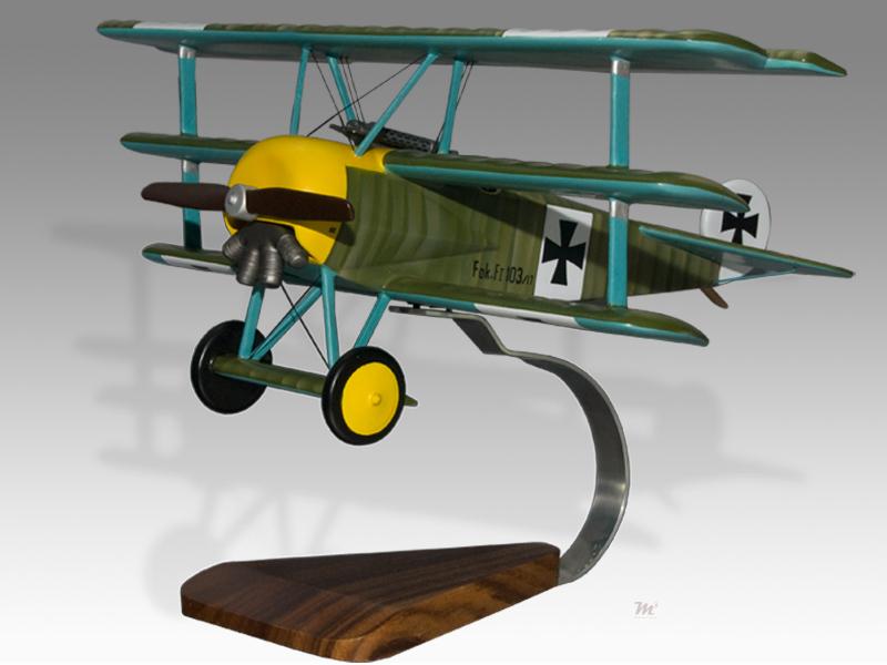 fokker dr 1 triplane werner voss model military airplanes. Black Bedroom Furniture Sets. Home Design Ideas