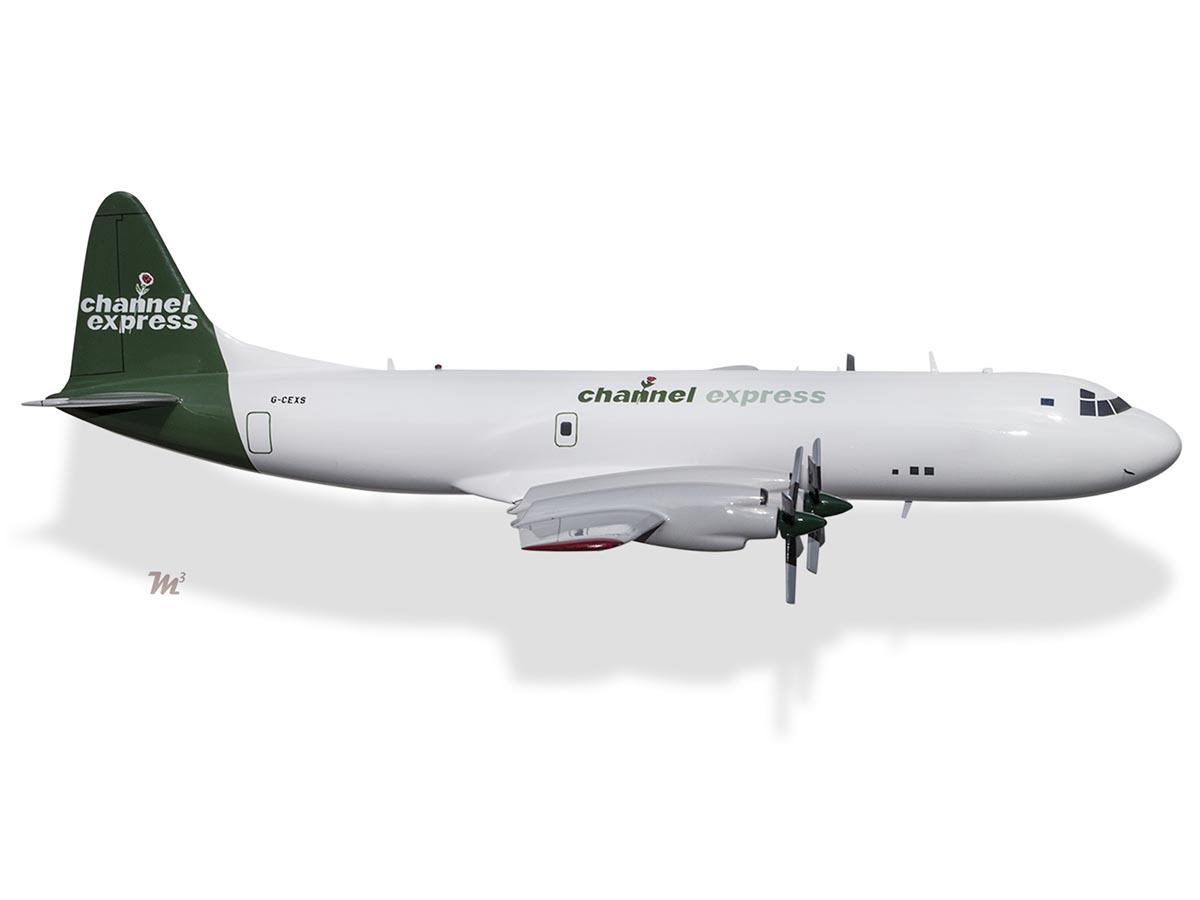 Lockheed L-188CF Electra Channel Express G-CEXS Model
