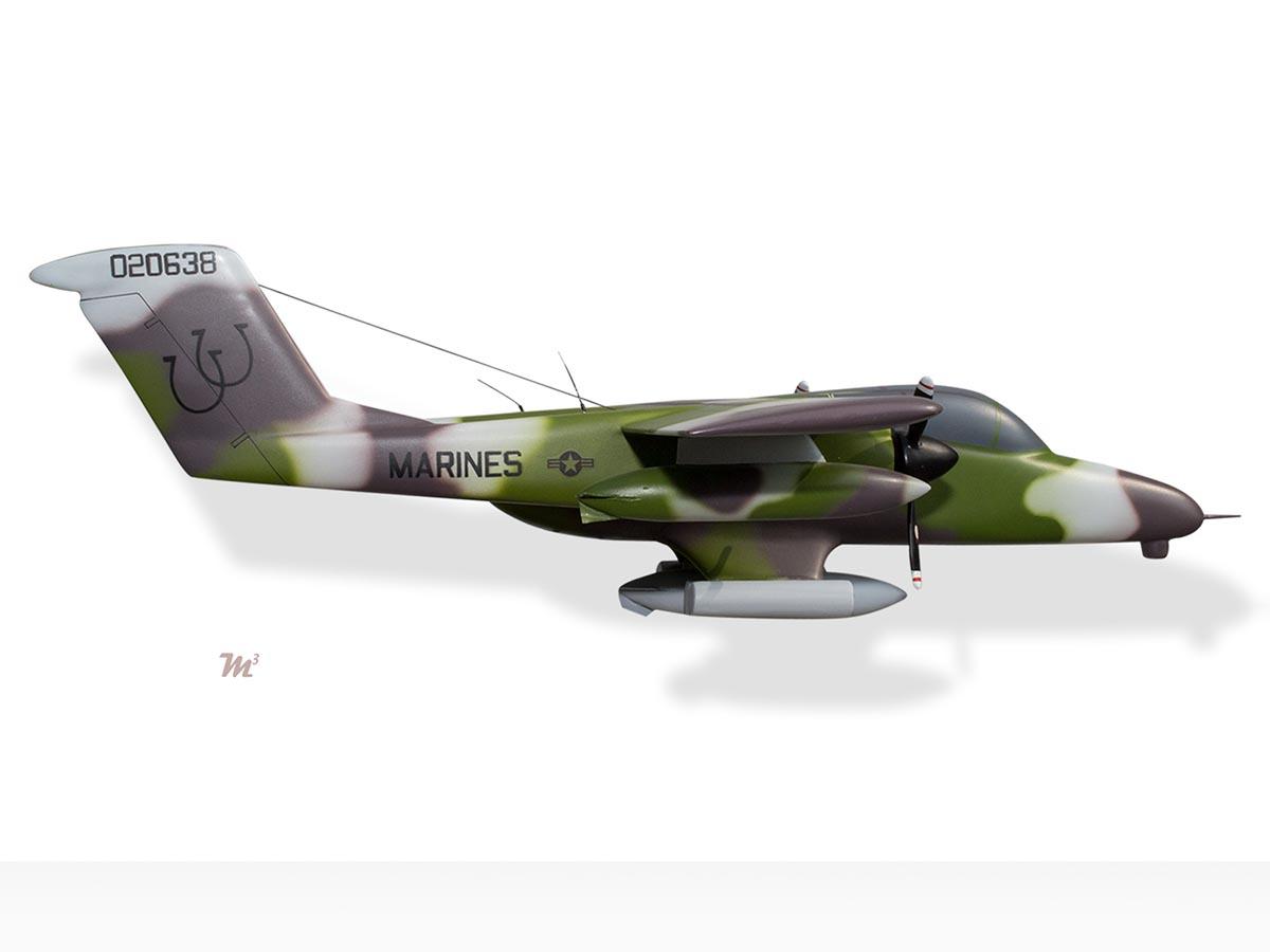 North American Rockwell OV-10 Bronco US Marines Model ...
