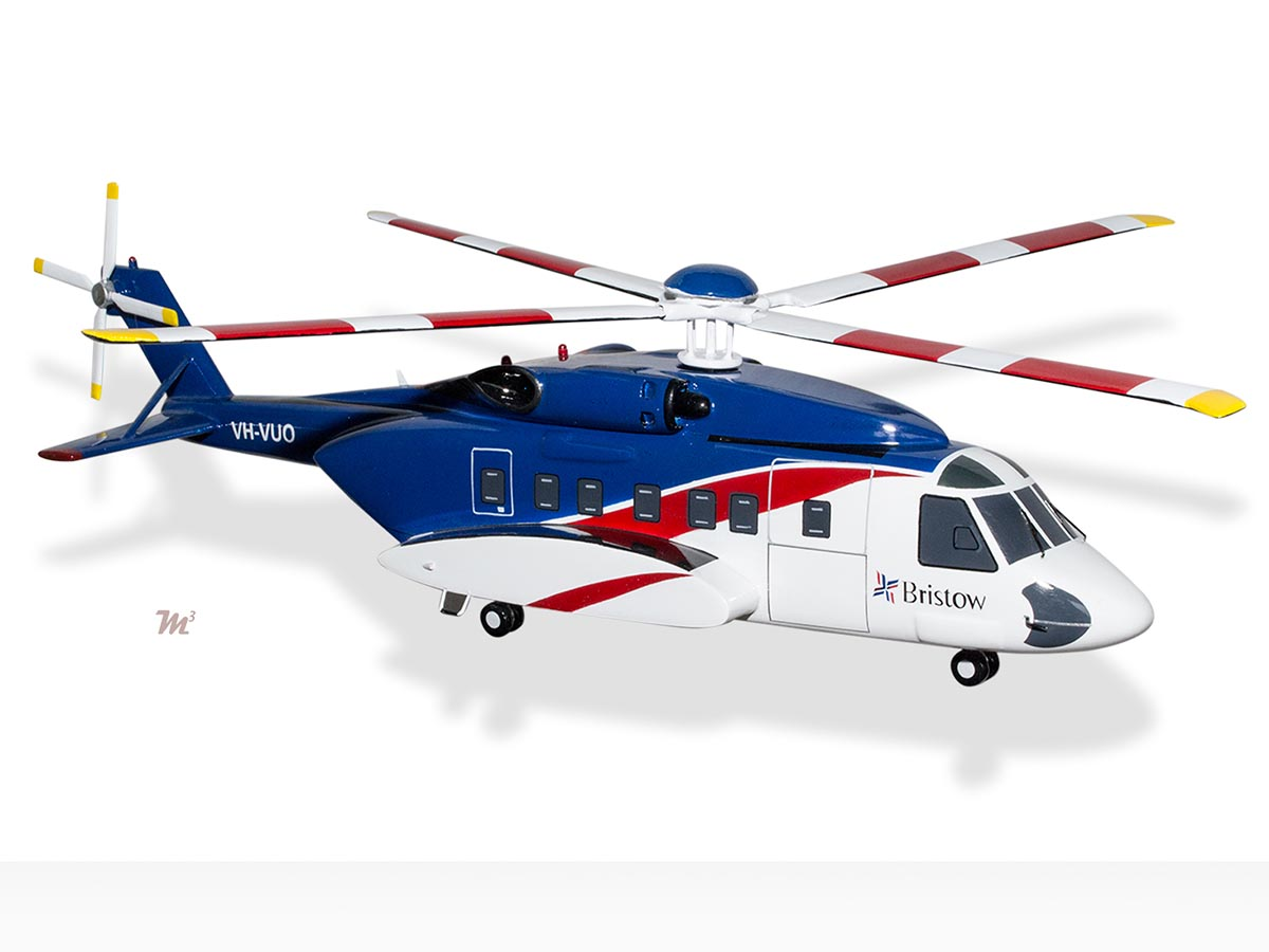 Elicottero S 92 : Sikorsky s bristow model helicopters