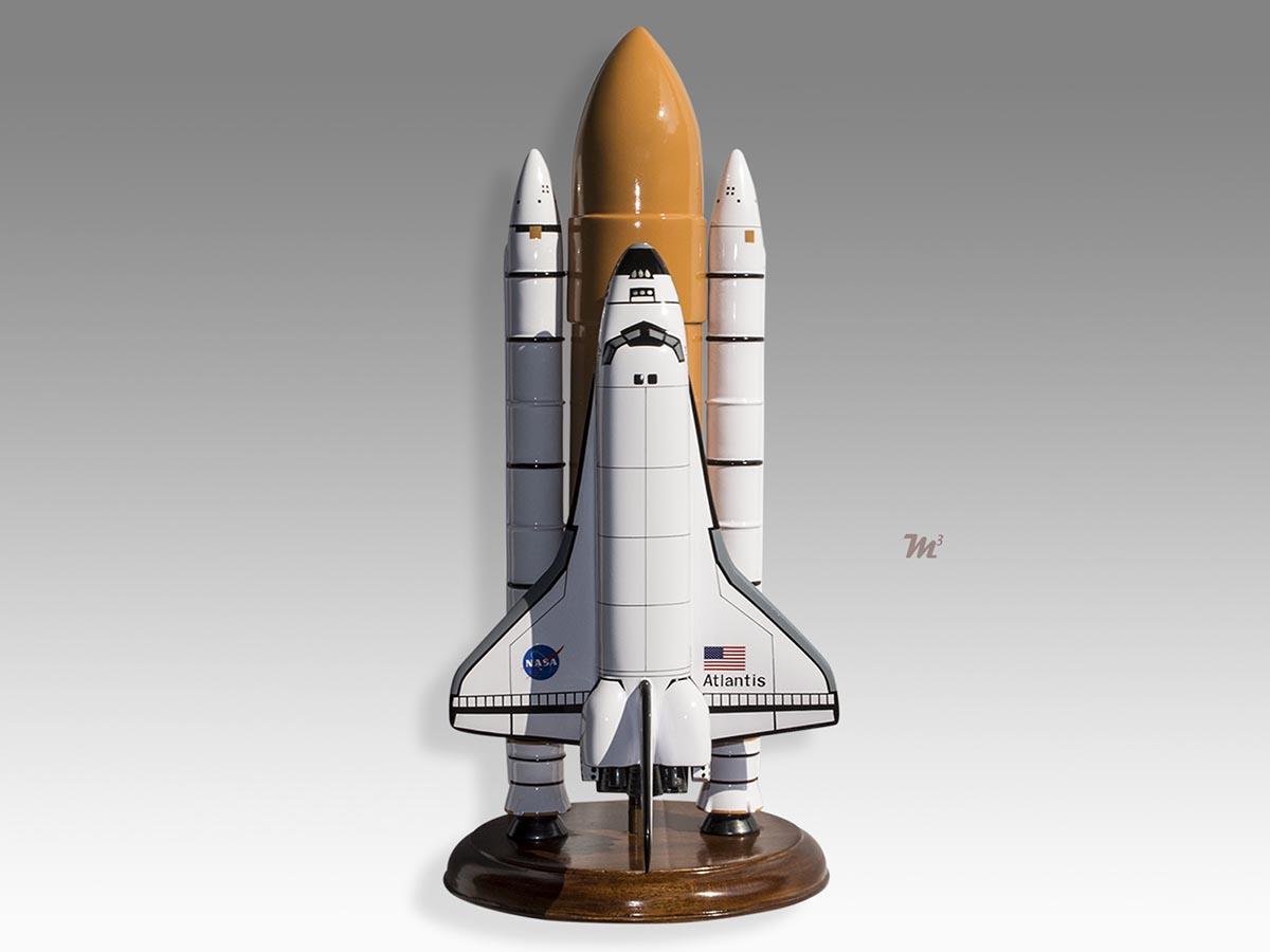 Space Shuttle Solid Rocket Booster Atlantis Model Space