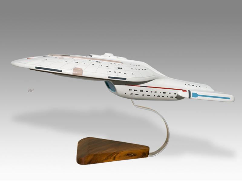 USS Enterprise Voyager Star Trek Model Space, NASA