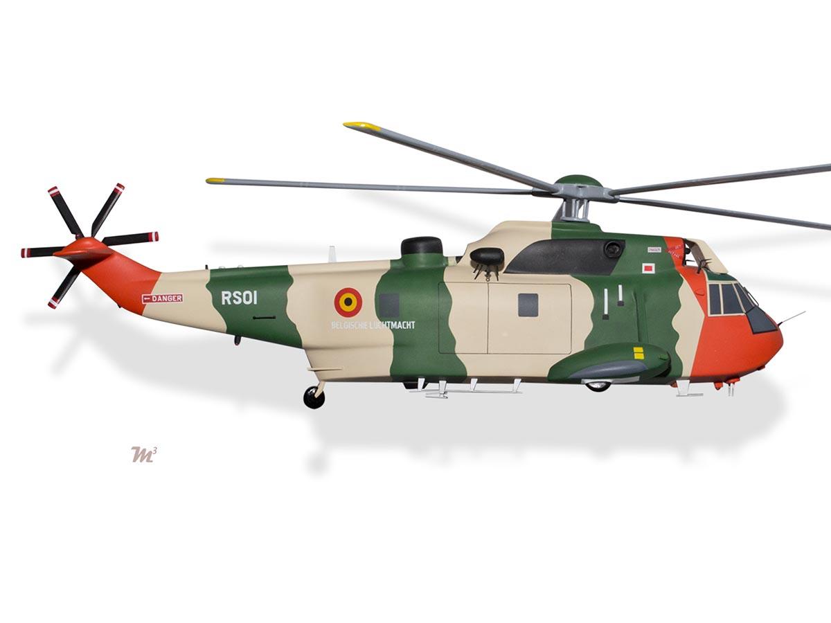Westland Sea King Mk48 Helicopter Belgian Belgium Air