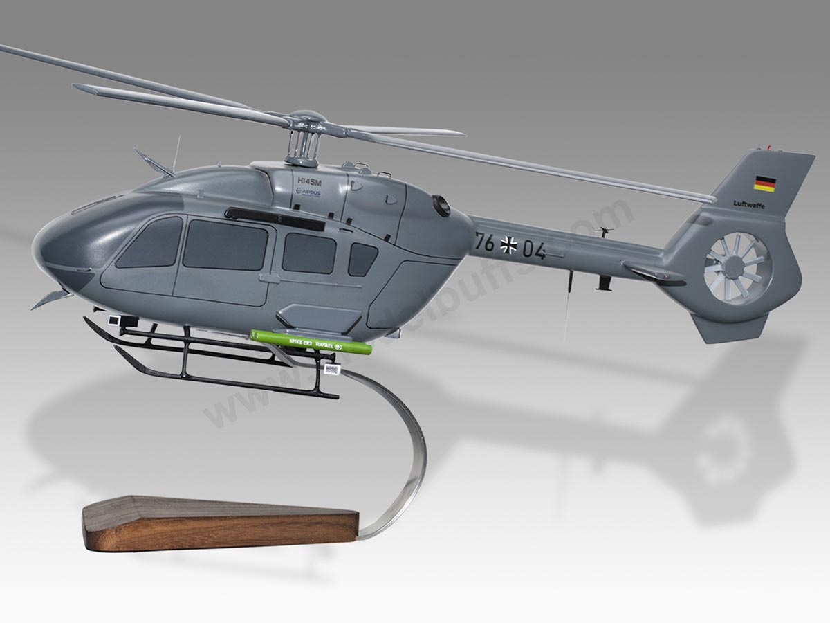 Airbus Eurocopter H145M German Air Force Luftwaffe Helicopter Model