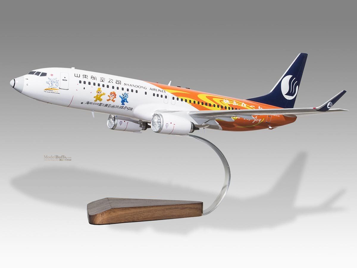 Transportation Collectables Boeing 737-700 Asky Airlines Ethiopian Airlines Wood Handmade Desktop Model Attractive Designs;
