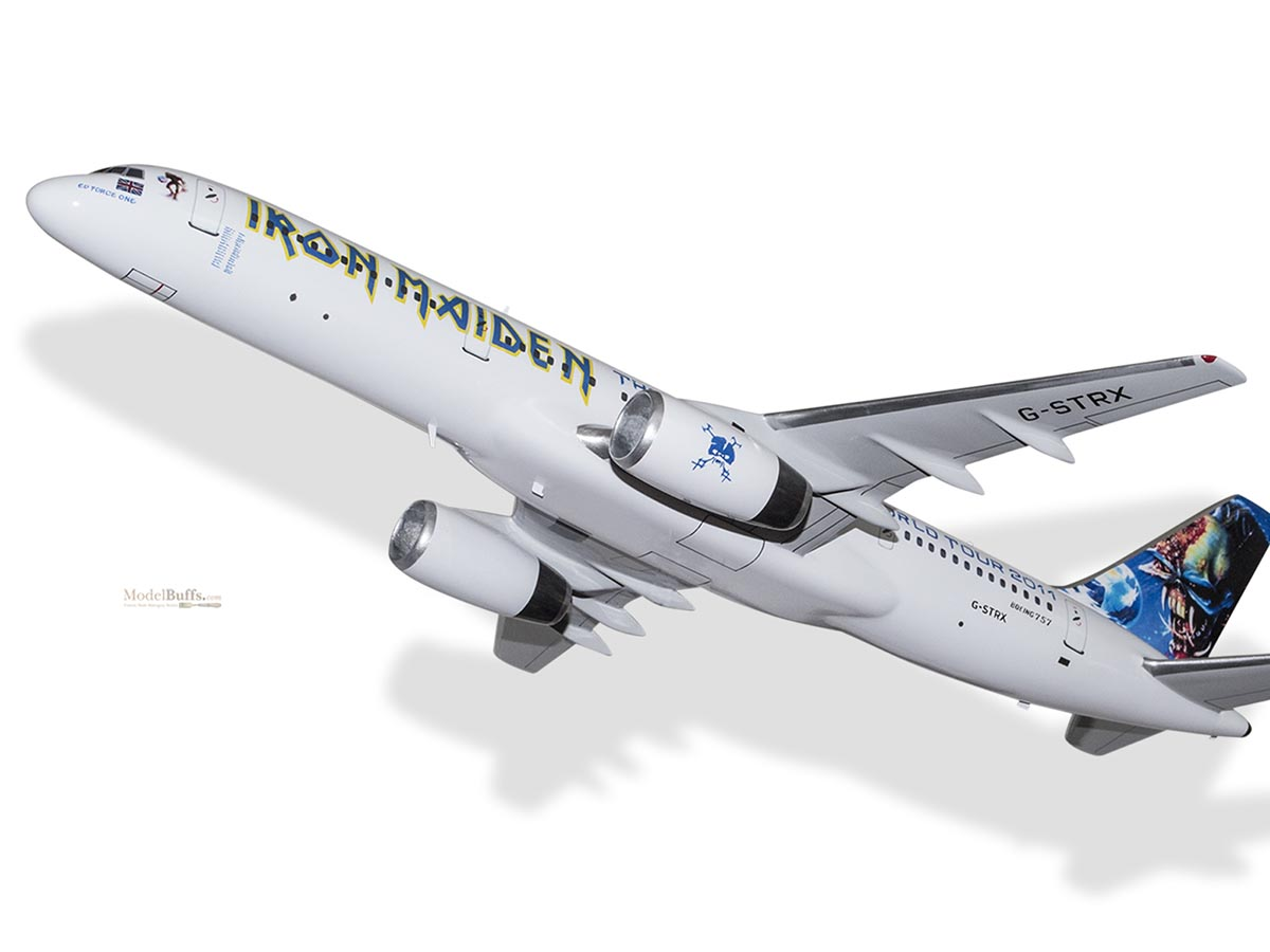 boeing 757-200 iron maiden ed force one final frontier world tour