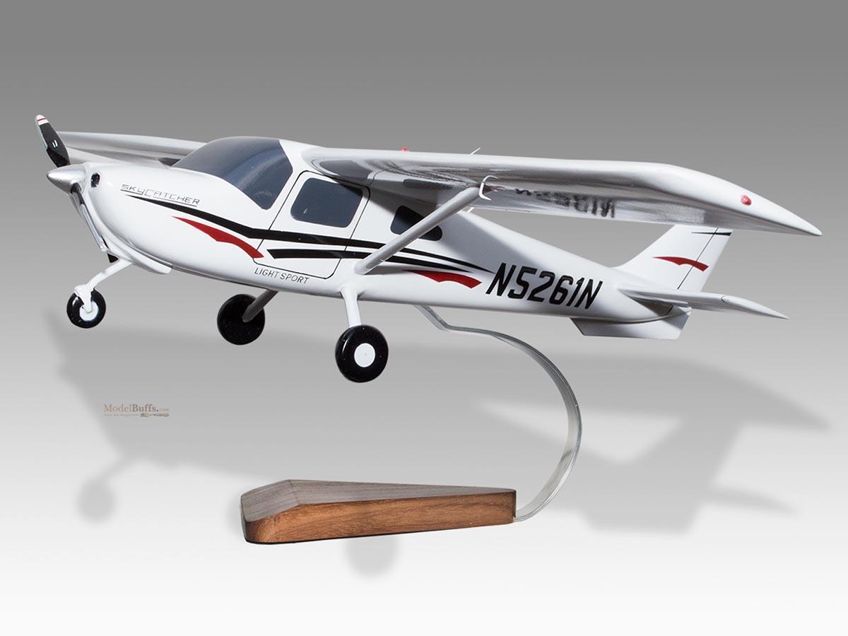 ModelBuffs com Custom Made Mahogany Desktop Plane Models