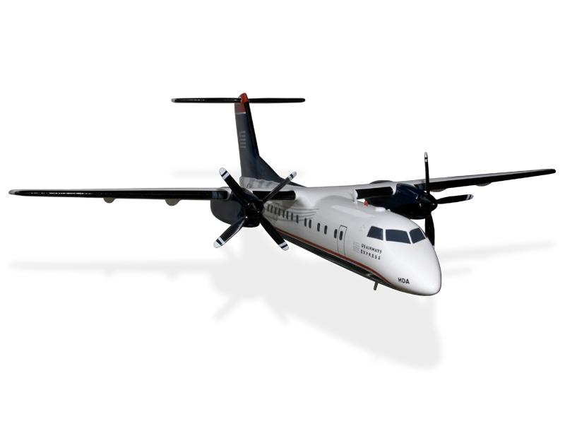 De Havilland Dash 8 300 US Airways Express - Piedmont Airlines Model ...