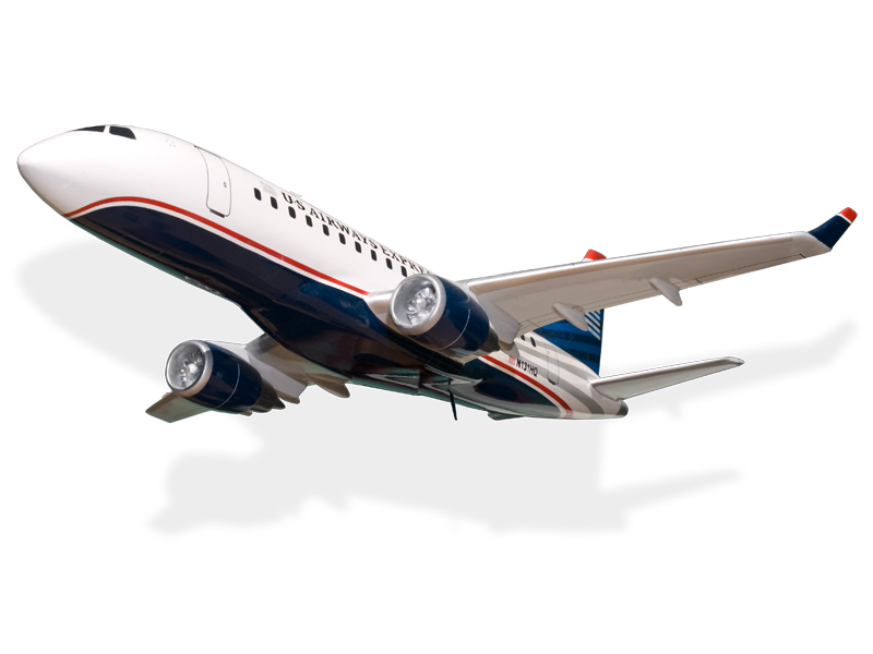 Embraer 170 US Airways Express Republic Airlines Model Private ...