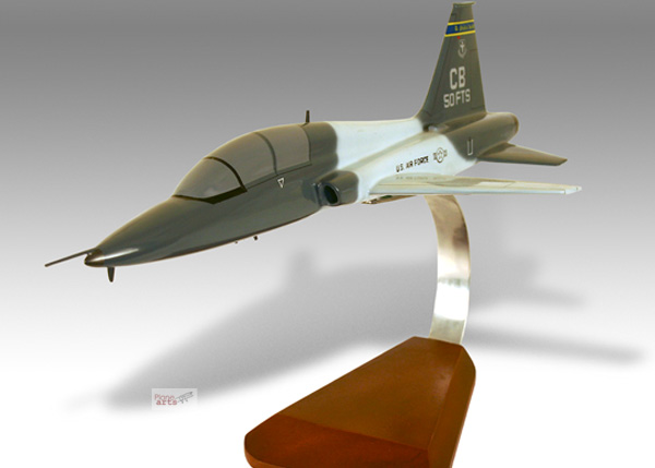 northrop talon t 38 model military airplanes jet 194 5 modelbuffs custom made mahogany models. Black Bedroom Furniture Sets. Home Design Ideas