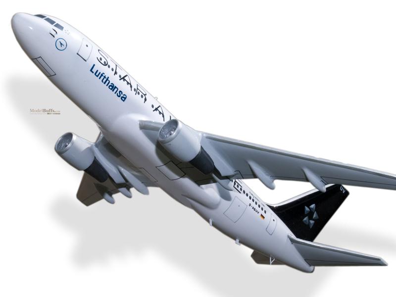 Boeing 767 300 Lufthansa Star Alliance Model Private Civilian Modelbuffs Custom Made