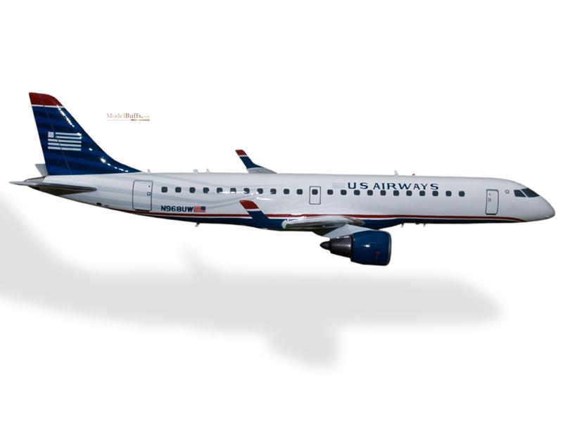 Embraer 190 US Airways Model Private & Civilian $194.5 Modelbuffs ...