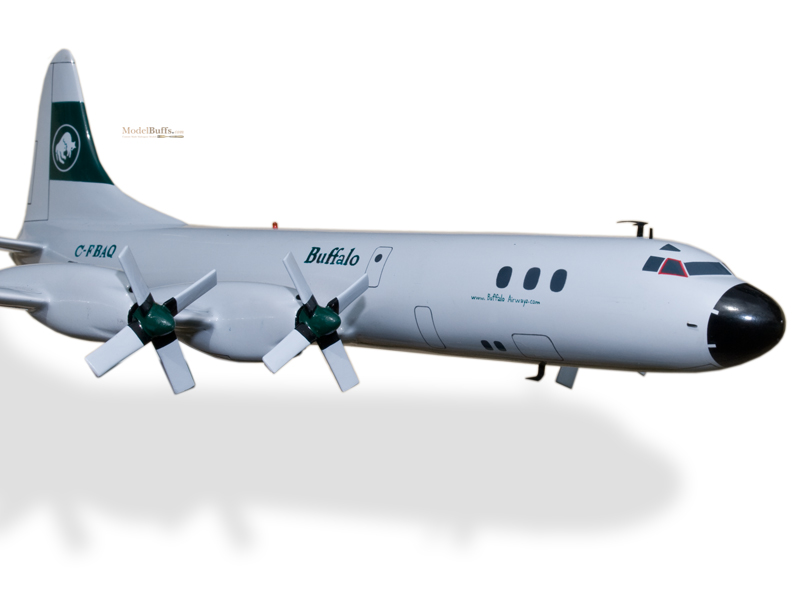 Lockheed Electra L-188 Buffalo Airways Model Private